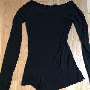 Brandy Melville black long sleeve shirt